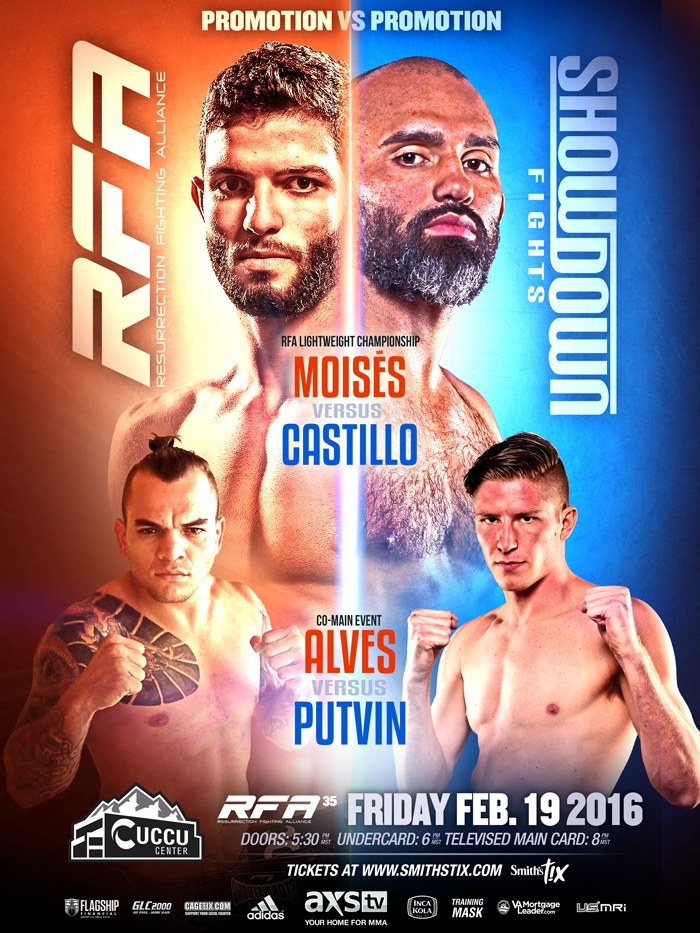 RFA 35 fight poster