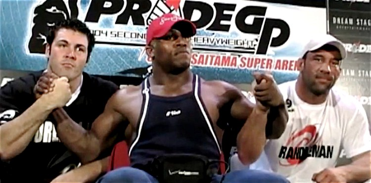Wes Sims, Kevin Randleman, Mark Coleman Pride 750