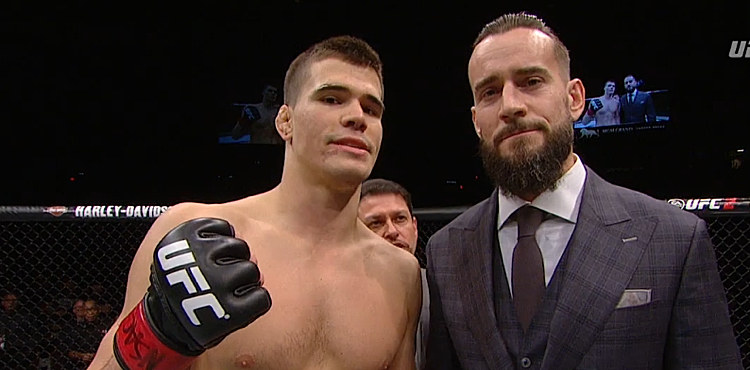 Mickey Gall and CM Punk