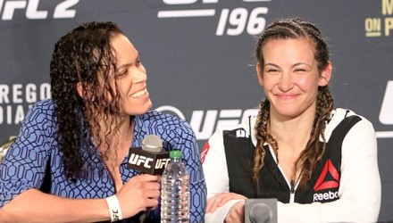 Amanda Nunes vs Miesha Tate UFC 196 Post-Fight