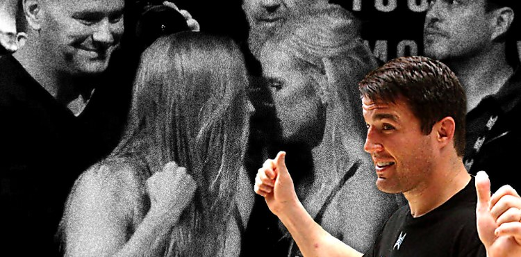 Chael Sonnen Holm Rousey 2 Robbery