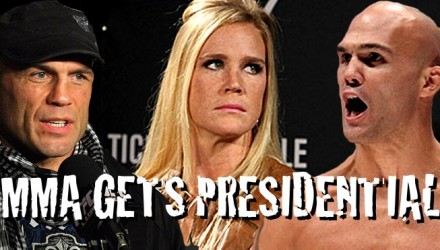 Randy Couture - Holly Holm - Robbie Lawler