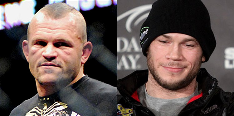 Chuck Liddell and Forrest Griffin