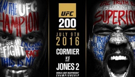 Daniel Cormier vs Jon Jones UFC 200 Poster