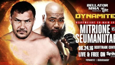 Matt Mitrione Bellator Debut Poster