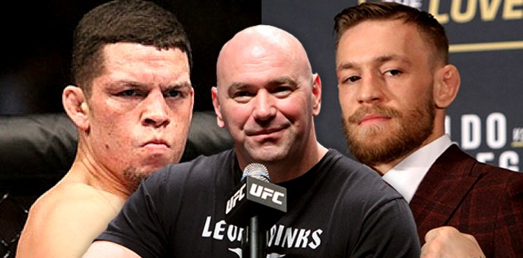 Nate Diaz - Dana White - Conor McGregor