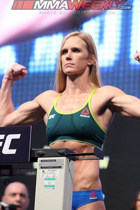 Holly Holm UFC 196 weigh