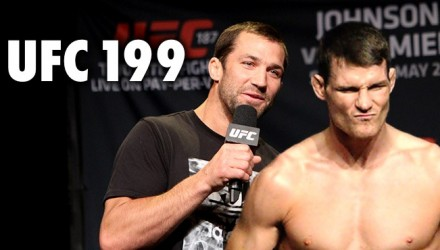 Luke Rockhold and Michael Bisping UFC 199 Conference Call