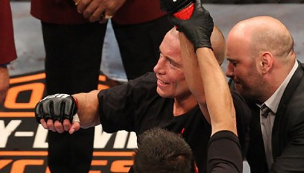 Georges St-Pierre at UFC 100