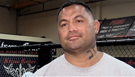 Mark Hunt UFC 200 Pre Scrum at Couture