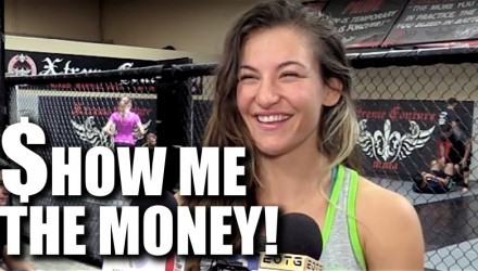 Miesha Tate UFC 200 Show Me the Money