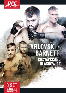 UFC Fight Night 93 poster
