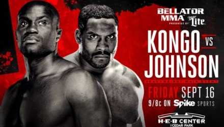 Bellator 161 Kongo vs Johnson Fight Poster