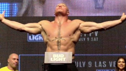 Brock Lesnar UFC 200 weigh
