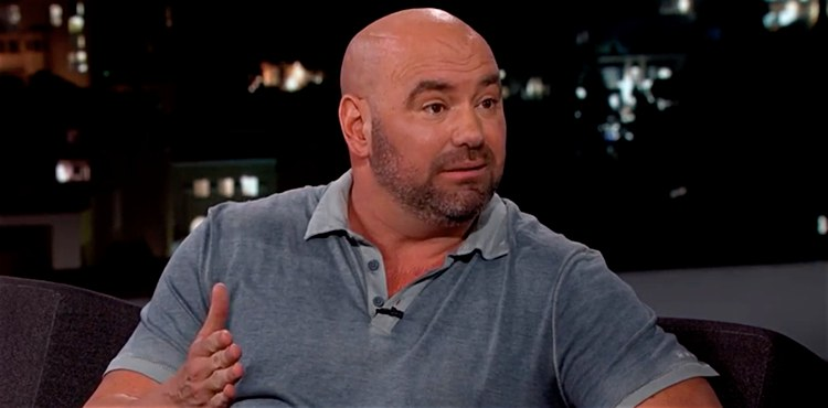 Dana White on Jimmy Kimmell Show