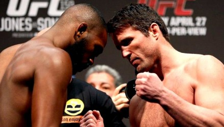 Jon Jones vs Chael Sonnen weigh-in