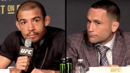Jose Aldo and Frankie Edgar UFC 200 Pre