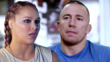 Ronda Rousey and Georges St-Pierre Hurt Business