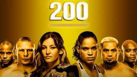 UFC 200 Tate vs Nunes Fight Poster