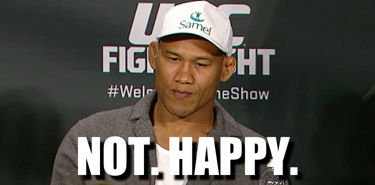 Jacare Souza Is Not Very Happy About Michael Bisping Vs Dan