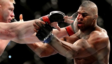 Alistair Overeem vs Brock Lesnar