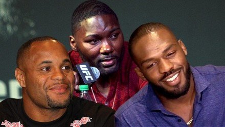 Daniel Cormier - Anthony Johnson - Jon Jones