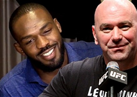 Jon Jones and Dana White