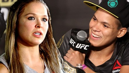 Ronda Rousey and Amanda Nunes