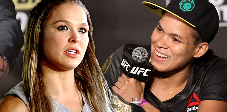 Image result for Amanda Nunes Says Ronda Rousey's Always Been Overrated