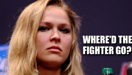 Ronda Rousey - where'd the fighter go