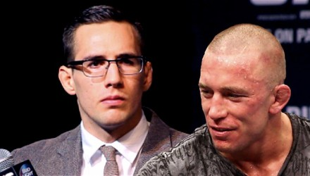 Rory MacDonald and Georges St-Pierre