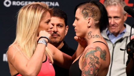 Paige VanZant vs Bec Rawlings - UFC weigh