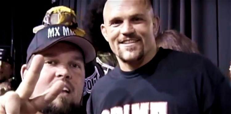 Big Poppa Schanke and Chuck Liddell