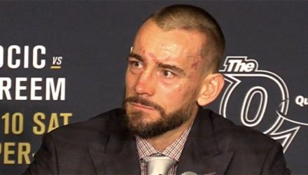 CM Punk UFC 203 post interview