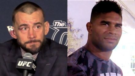 CM Punk and Alistair Overeem