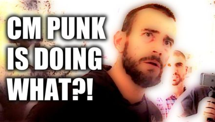 CM Punk is doing what?!
