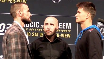 CM Punk vs Mickey Gall UFC 203 Faceoff