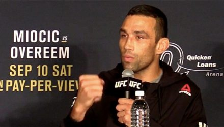 Fabricio Werdum UFC 203 post interview