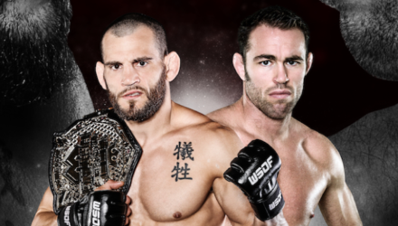 Jon Fitch vs Jake Shields at WSOF 34
