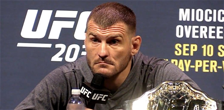 Stipe Miocic UFC 203 pre press