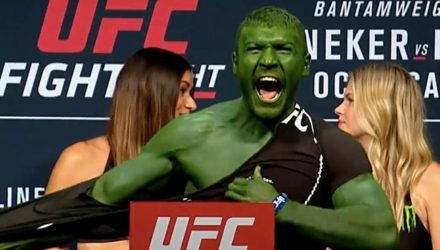 UFC Portland Weigh-in - Hulk