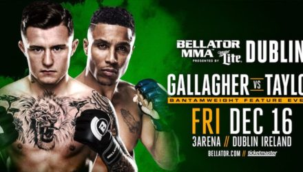 Bellator Dublin - Gallagher vs Taylor Poster