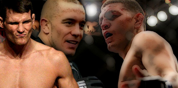 Bisping - Georges St-Pierre and Nick Diaz