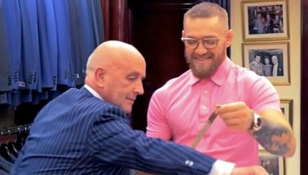 Conor McGregor - New UFC 205 Suit