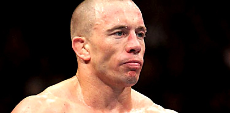 Georges St-Pierre at UFC 124