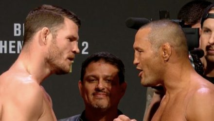 Michael Bisping vs Dan Henderson UFC 204 weigh
