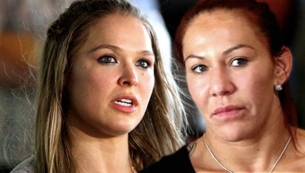 Ronda Rousey and Cris Cyborg