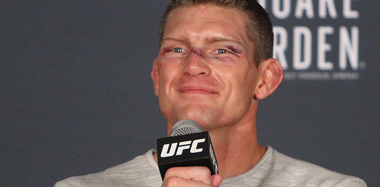 Stephen Thompson at UFC 205