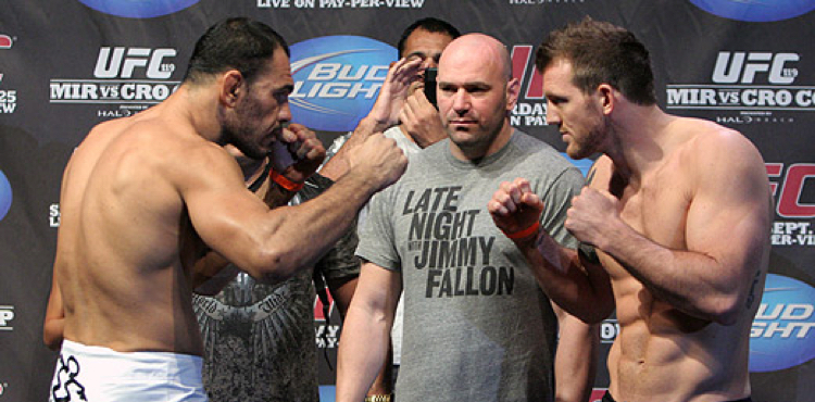 Antonio Rogerio Nogueira vs Ryan Bader weigh-in