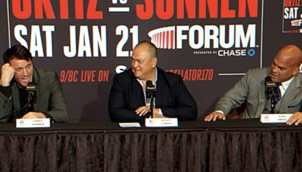 Chael Sonnen vs Tito Ortiz press conference